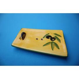 Seifenschale Olive Gelb