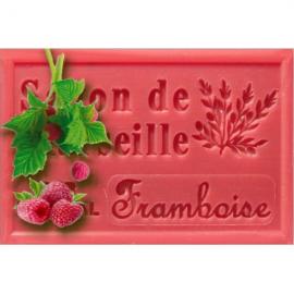 Framboos - Savon de Marseille