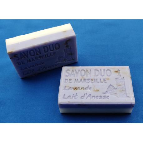 Duo Lavendel - Ezelinnenmelk - Savon de Marseille