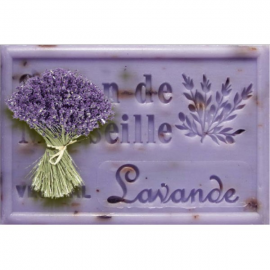 Lavendel met blaadjes - Savon de Marseille BIO