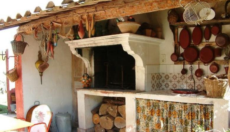 Haus, Keramik und Küche